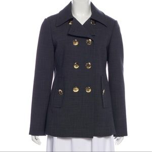 NEW TORY BURCH Double-Breasted Short Coat (SIZE 6)